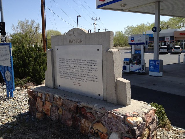 Nevada Historical Marker #7