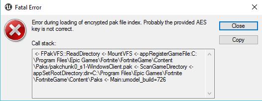 Pak Editor Fortnite
