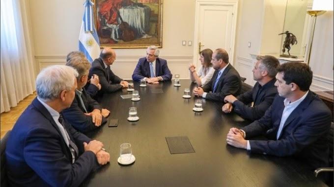 """Perotti con Fernández por la seguridad: """"Excede al territorio provincial"""""""