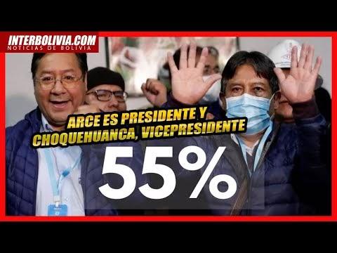🔴  El TSE declaró la VICTORIA de LUIS ARCE CATACORA y DAVID CHOQUEHUANCA 👈