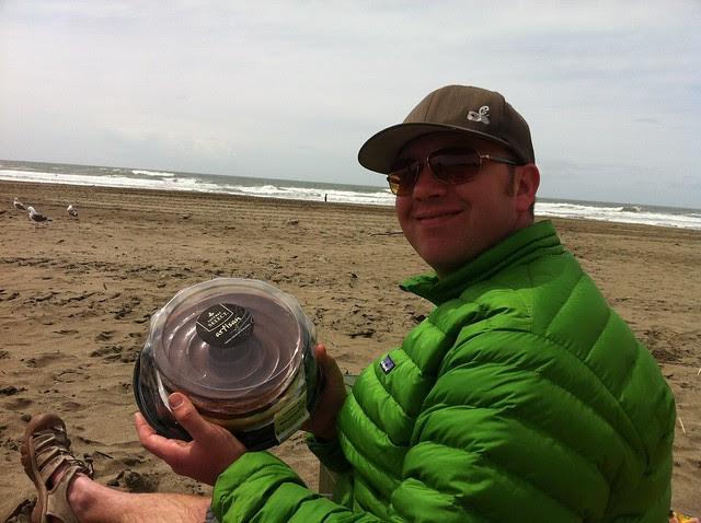 My birthday at Ocean Beach