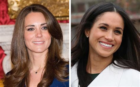 How Meghan Markle's Engagement Ring Compares to Kate