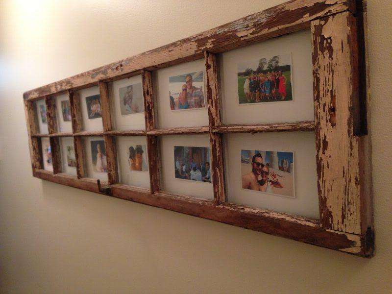 Old Door Picture Frame Ideas