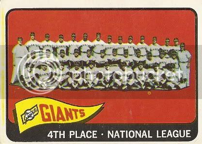 #379 San Francisco Giants Team Card