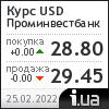 Проминвестбанк курс доллара
