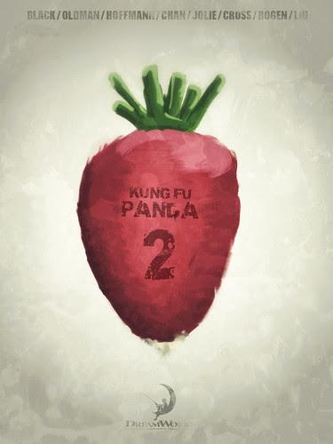 Kung Fu Panda 2 - Minimalist Poster