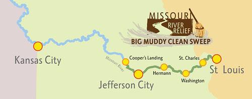 Big Muddy Clean Sweep 2011 map
