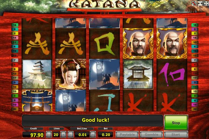 Игровой автомат katana катана играть онлайн бесплатно ставку