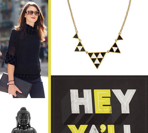 Think: Black and Yellow Inspiration