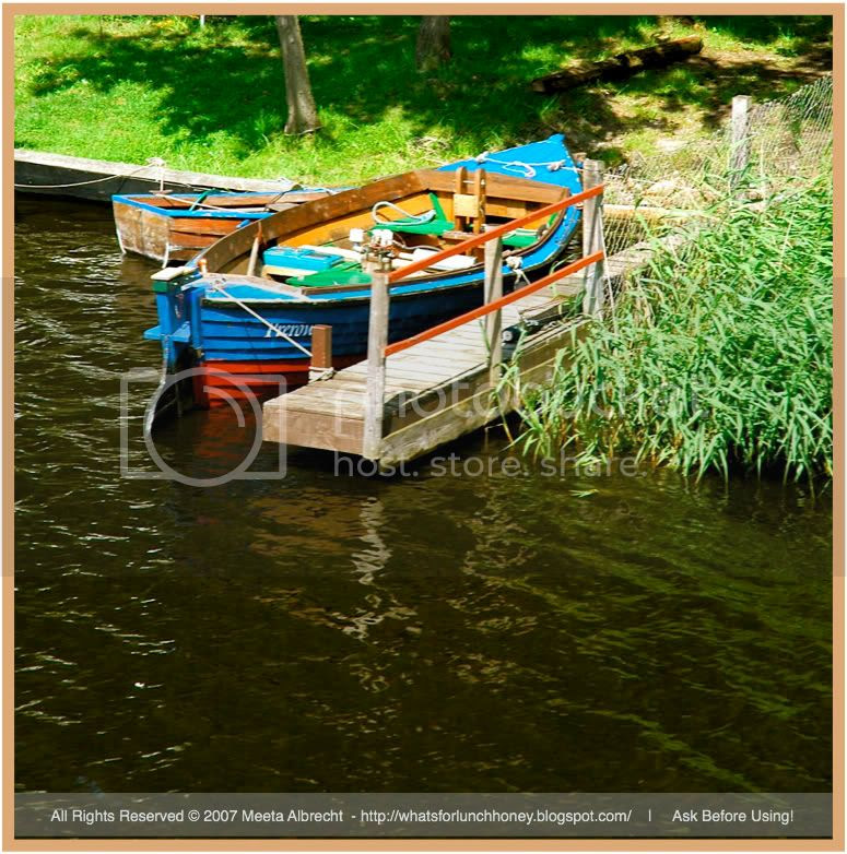 Prerowstrom Boats 01 by Meeta Albrecht