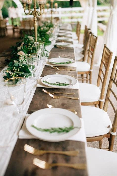 25  best ideas about Wedding table settings on Pinterest