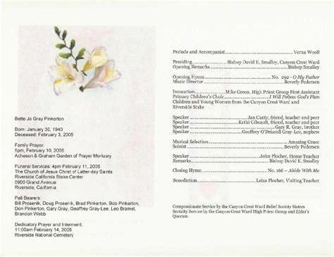 free printable wedding programs templates   Program