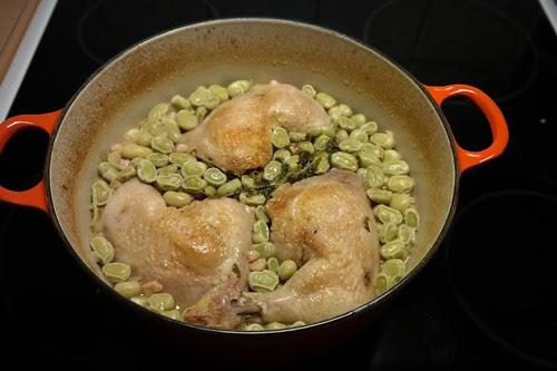 kyckling-bondbönor