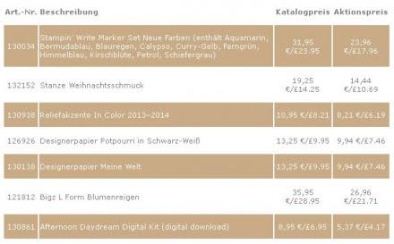 Stampin Up Angebot der Woche www.stempelmami.de