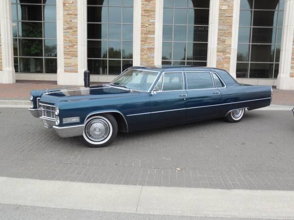 1966 Cadillac Fleetwood 75 Executive Sedan for sale ...