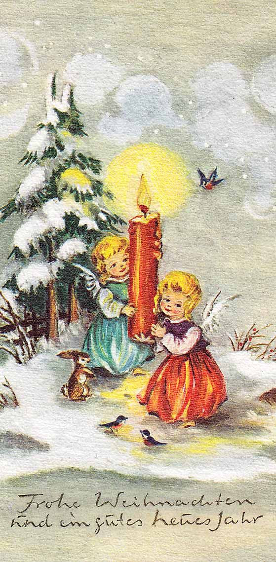 German Christmas card