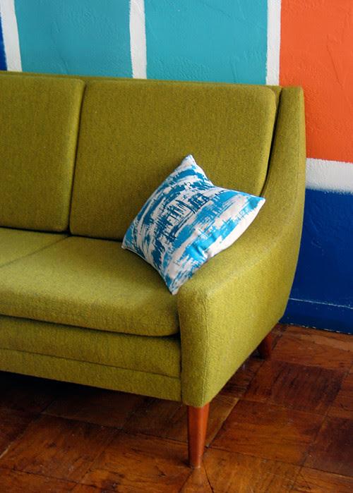 Dux Sofa & Paint Samples
