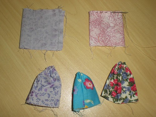 Tulipas de tecido - PAP 2 / Cloth Tulips - Step 2 by ~ Art Pieces Patchwork ~ SaTikO ~.