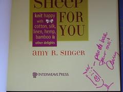 No Sheep For You Autograph