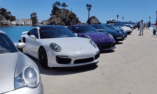 ΠΑΡΓΑ Έκαναν… απόβαση οι Porsche