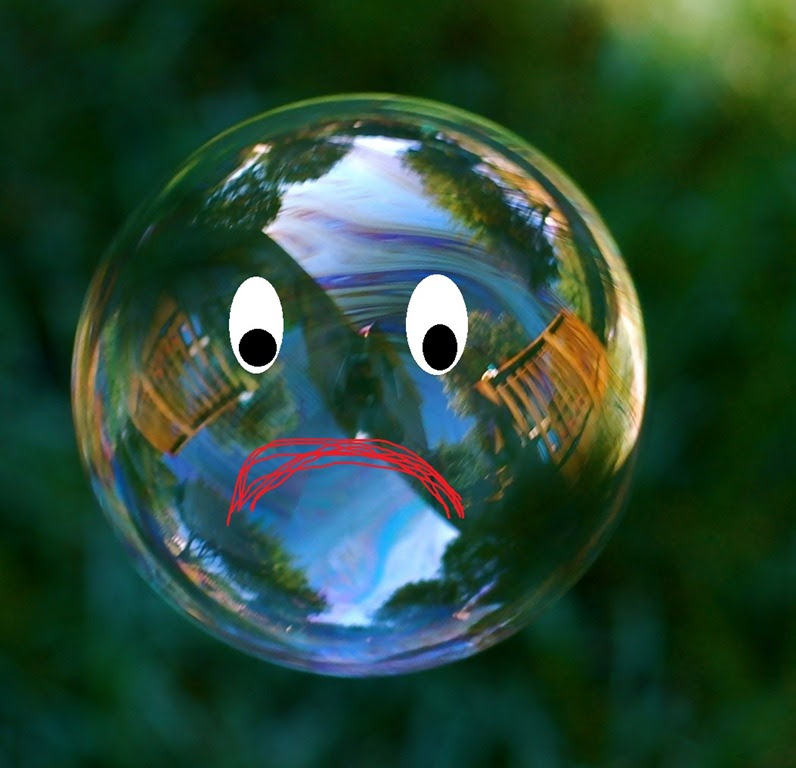 The Largest Bubble In History Is About To Burst