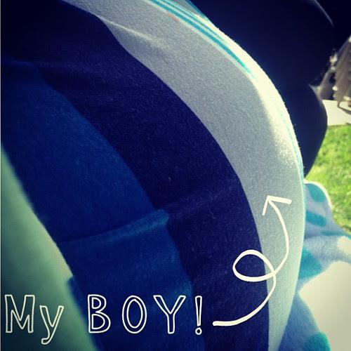My boy!! #babyboy #babybump #almost30weeks