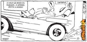 Tintin: ma da dove salta fuori quel ciuffo?