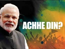 Good days 'Achhe Din' become just a slogan