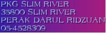 PKG SLIM RIVER 35800 SLIM RIVER PERAK DARUL RIDZUAN 05-4528309