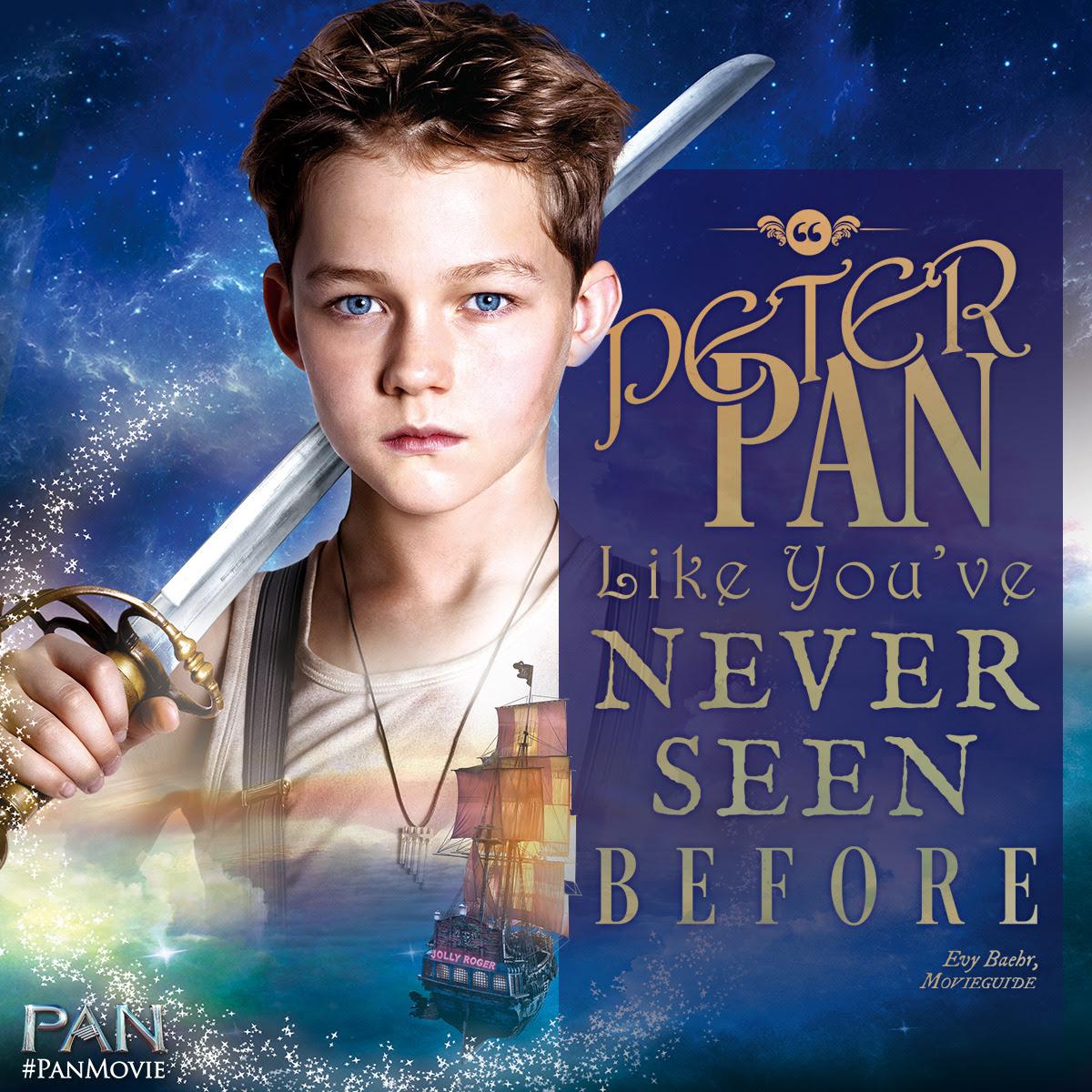 Levi Miller (2015) Peter Pan