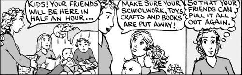 Home Spun comic strip #397