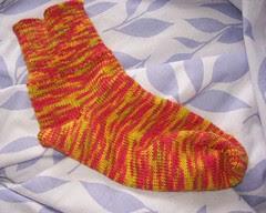 Easy passap sock - red XXL