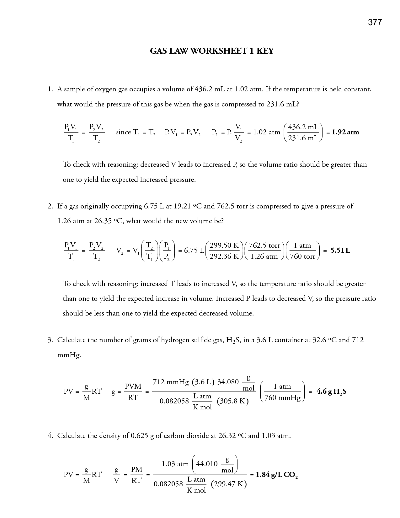 19 Best Images of Which Law Worksheet Answers  Gas Laws Worksheet Answer Key, Ohms Law