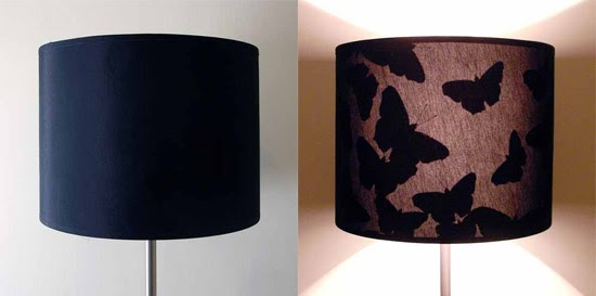 L mpara con pantalla que cambia al encenderse blog y - Pantallas de lamparas de mesa ...
