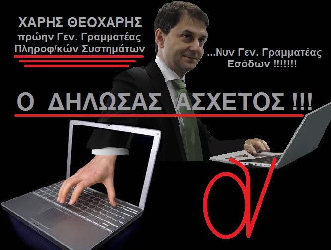 ΧΑΡΗΣ ΘΕΟΧΑΡΗΣ -ΓΓ ΕΣΟΔΩΝ 1