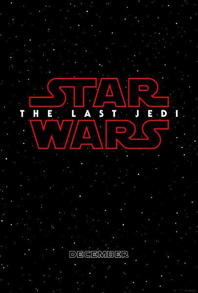 STAR WARS: THE LAST JEDI hits theaters nationwide on December 15 of this year.