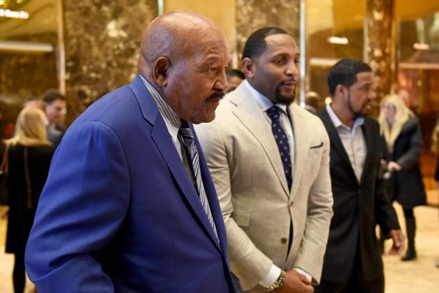 Jim Brown, Ray Lewis Comment on Meeting President-Elect Donald Trump