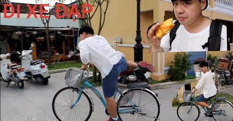 Hội An trong tôi. Lái xe đạp đi vòng Phố cổ Hội An, đi biển và ăn vặt