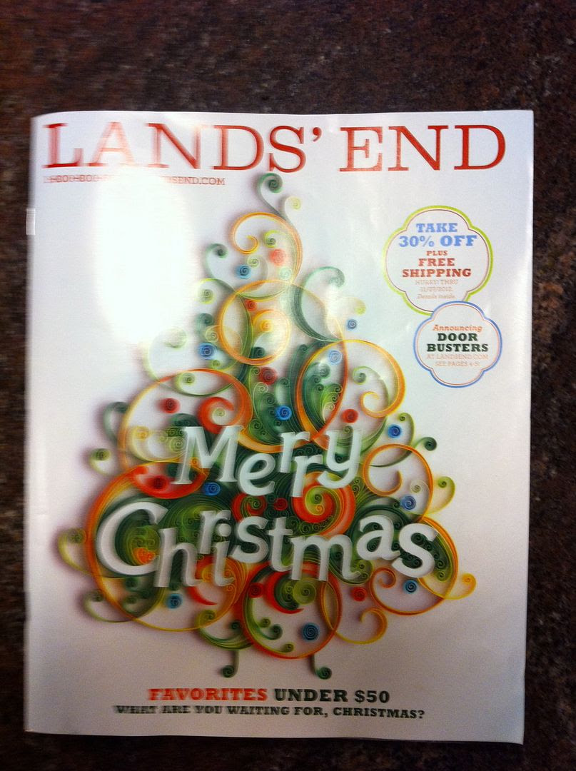 Lands' End Christmas Quilling