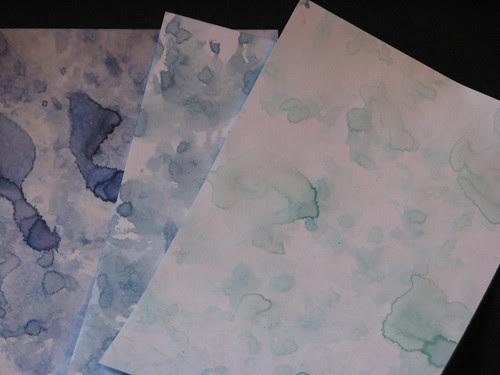 watercolor paper towel technique 002