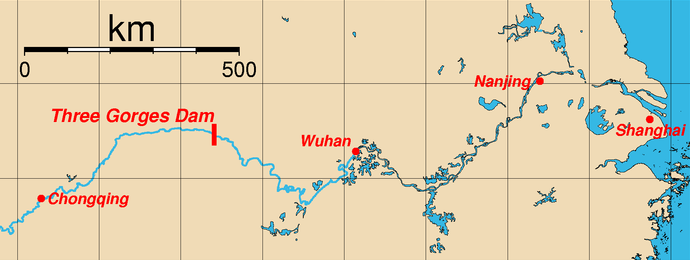Map of the Dam