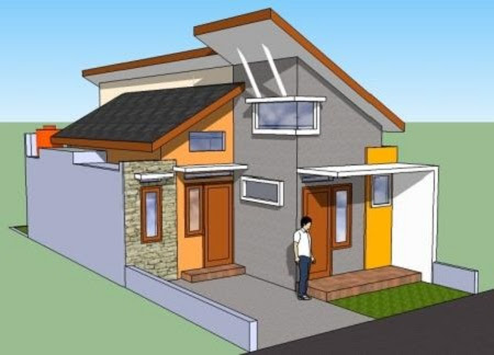 contoh atap rumah minimalis