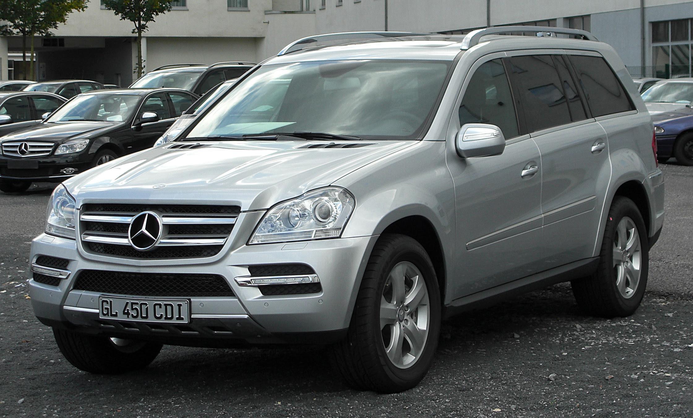 2008 Mercedes-Benz GL-Class - Information and photos ...