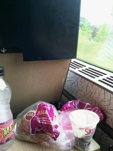 På tåget