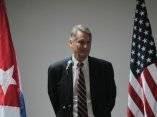 Alex Lee, jefe de la Delegación de EEUU. Foto: Ismael Francisco/ Cubadebate
