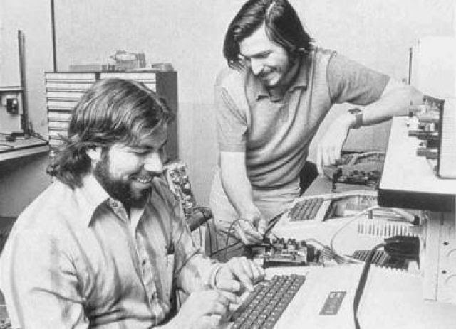 Steve Jobs e Stephen Wozniak