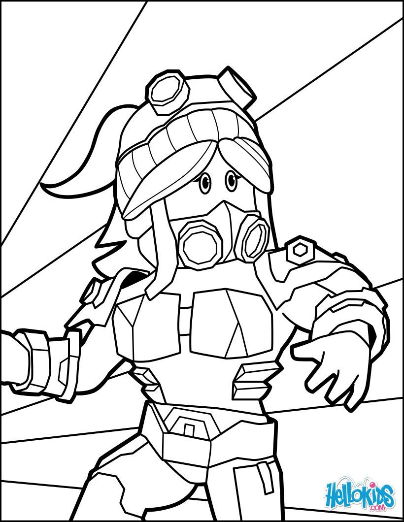 Roblox Sketch Coloring Page