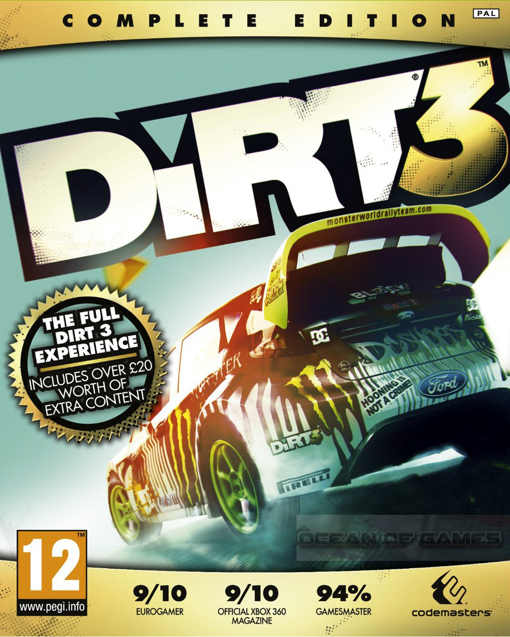 DiRT 3 Complete Edition Free Download