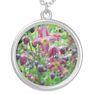 Epimedium Flowers Pendants