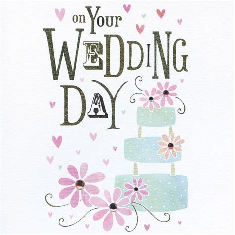 Wedding Cake Wedding Card   Karenza Paperie